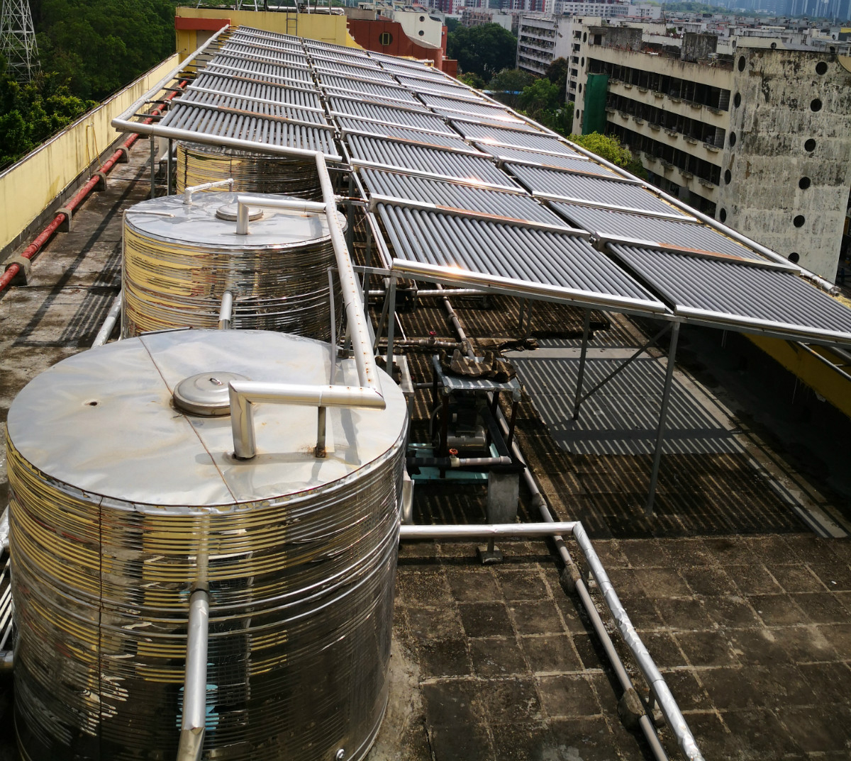 公寓热水工程