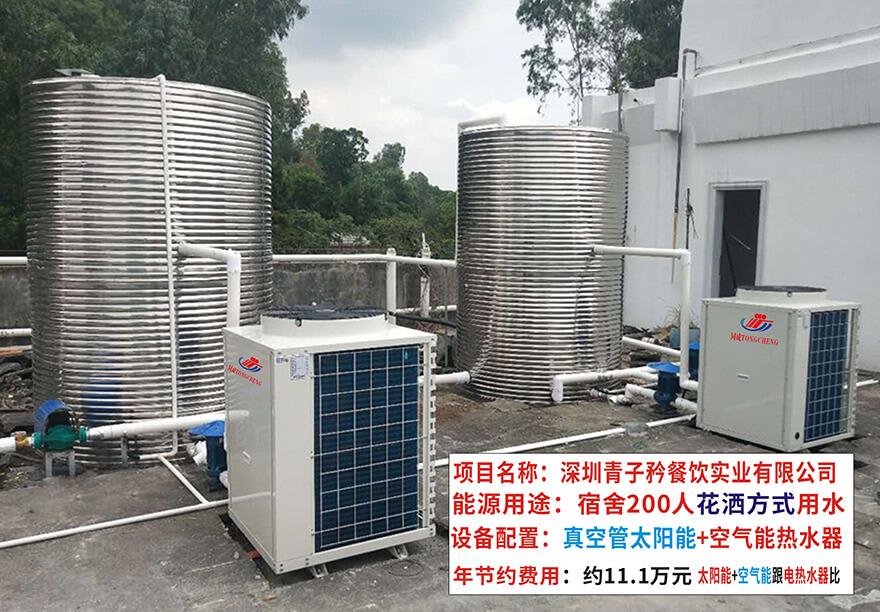 工厂热水系统