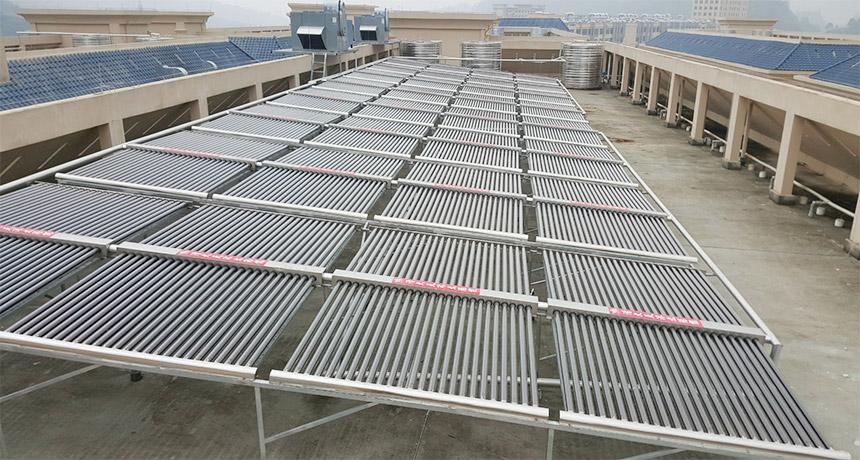 宿舍太阳能热水工程怎样设计